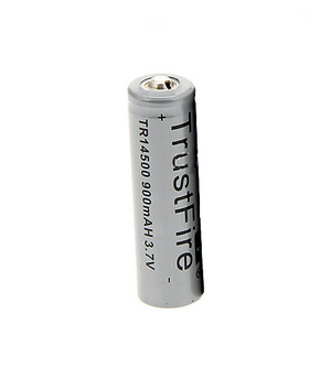 TrustFire 14500 laddningsbart batteri 3.7V 900mAh