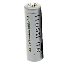 TrustFire 14500 3.7V 900mAh Rechargeable